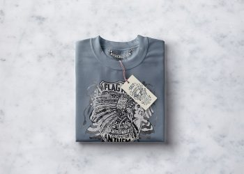 Folded Sweatshirt Mockup PSD