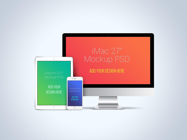 Huge Apple Devices Mockup Bundle Best Free Mockups