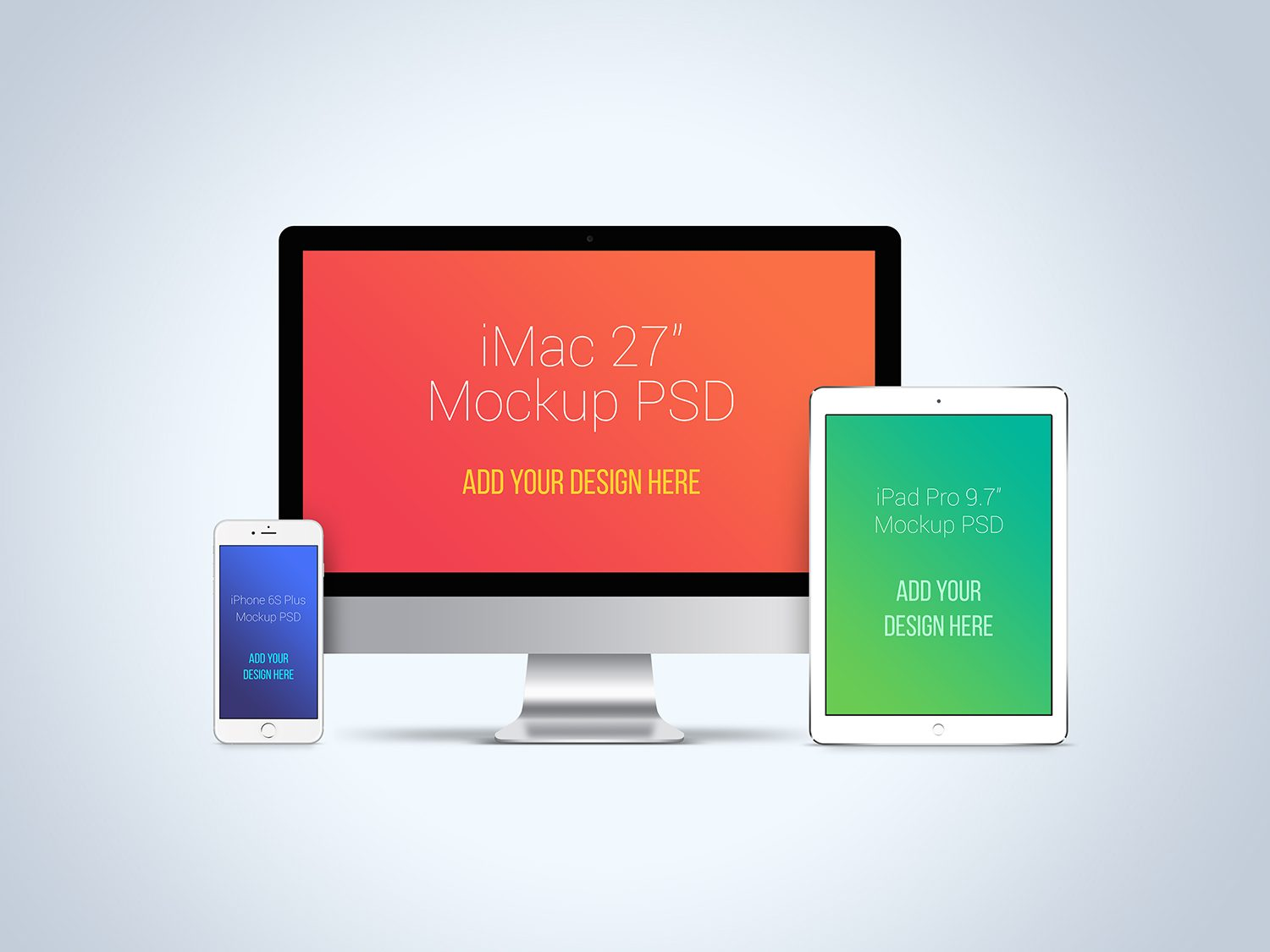 Huge Apple Devices Mockup Bundle