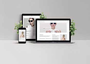 Responsive Web Design Showcase Mockup