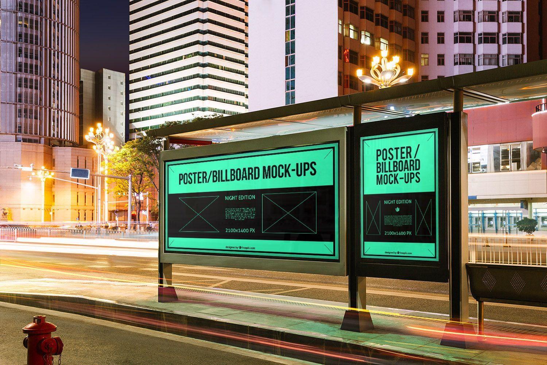 10 Urban Poster/Billboard Mockups
