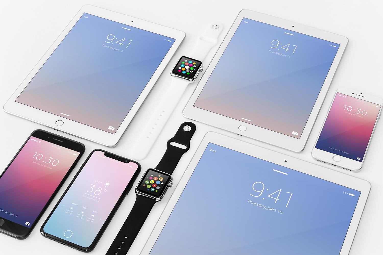 Apple Devices Mockup Bundle