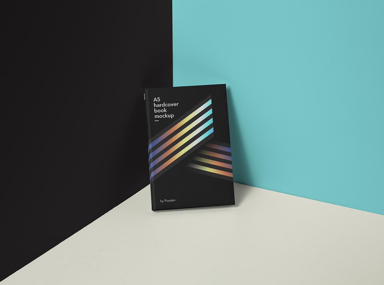 Free Modern Book Mockup
