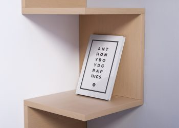 Realistic Book Mockup 3D Render