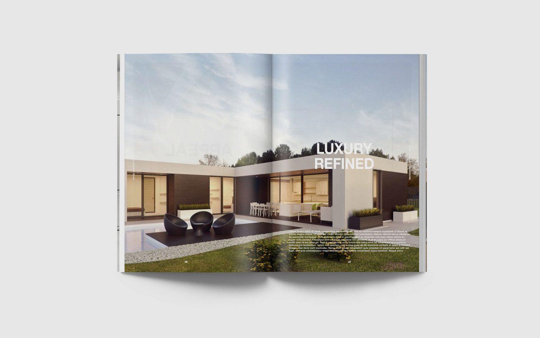 A4 Portrait Catalog Magazine Mockup