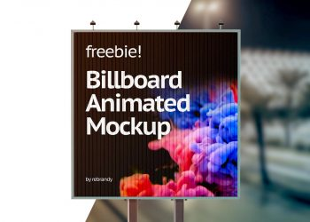 Animated Outdoor Advertising Mock-Ups