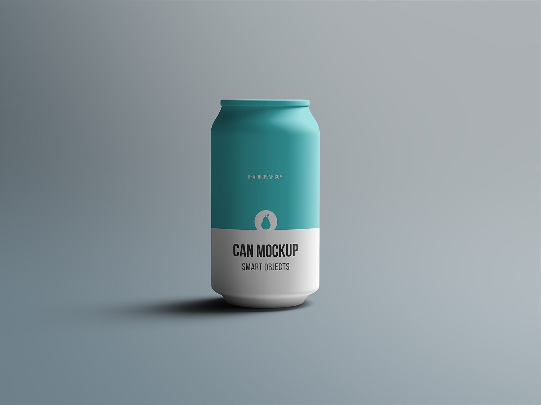Can Mockup PSD