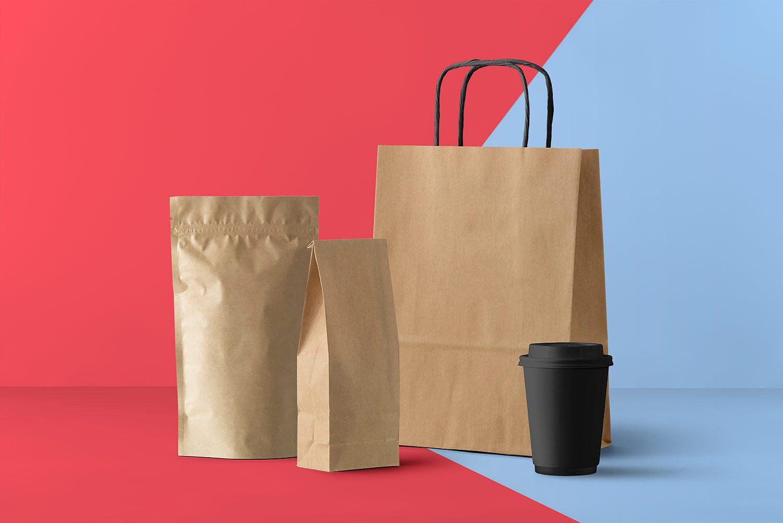 Essential Packaging Branding Mockup Set