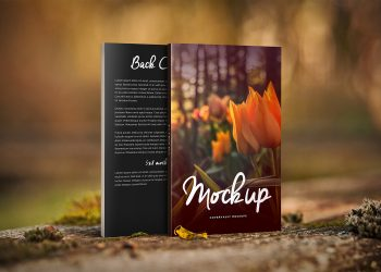 Nature Things Front & Back Book Mockup