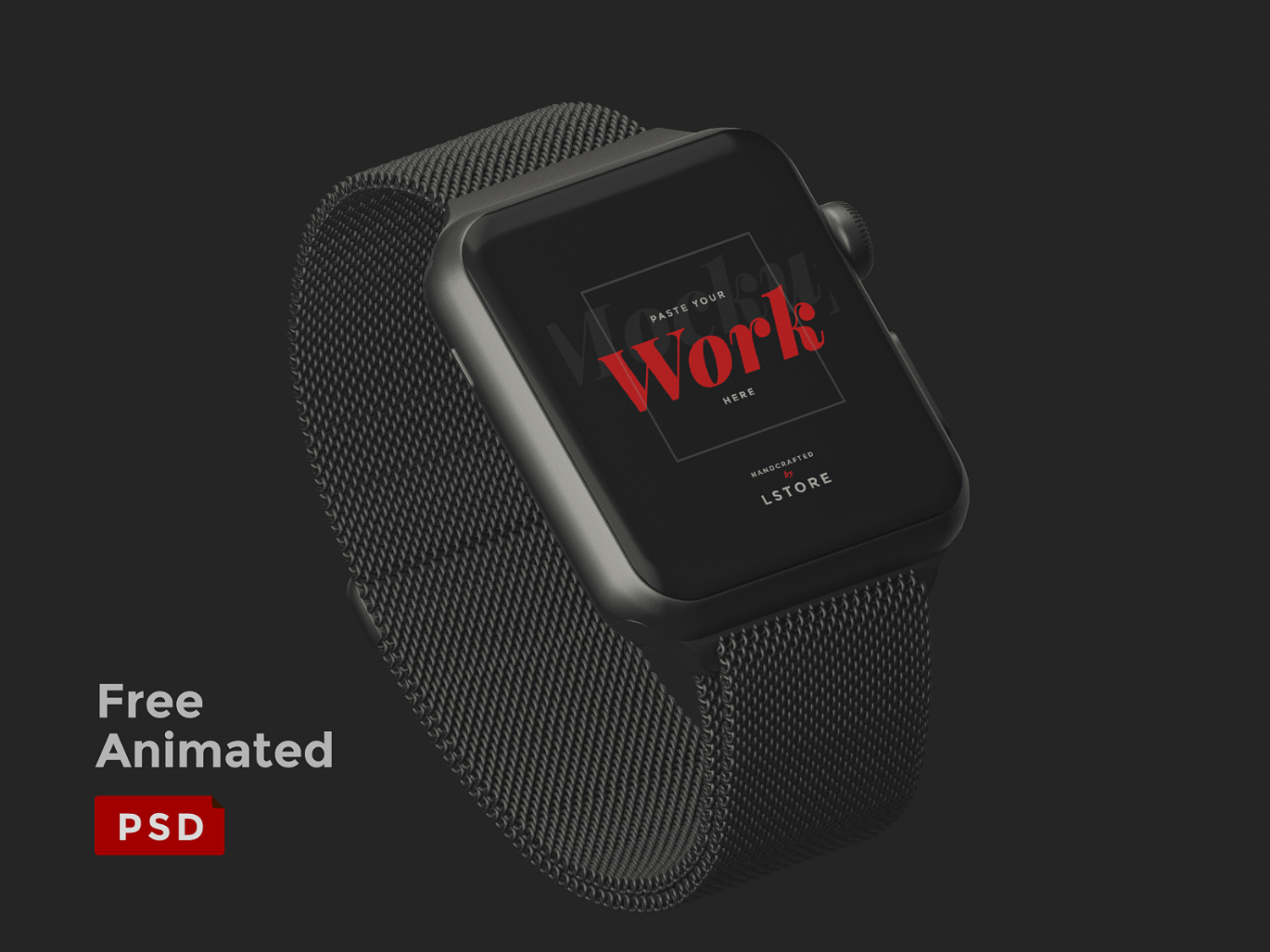 Animated Apple Watch Mockup