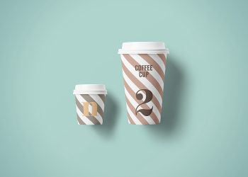 Coffee Paper Cup PSD Mockups