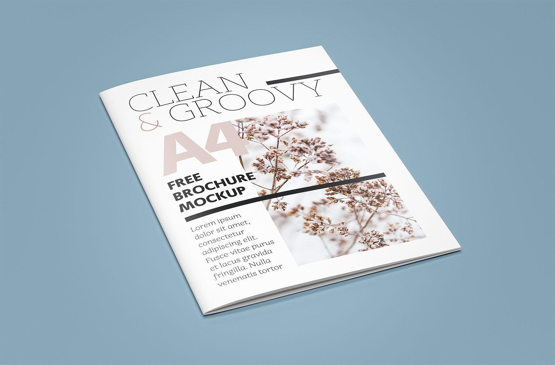 Free A4 Brochure/Catalog Mockup