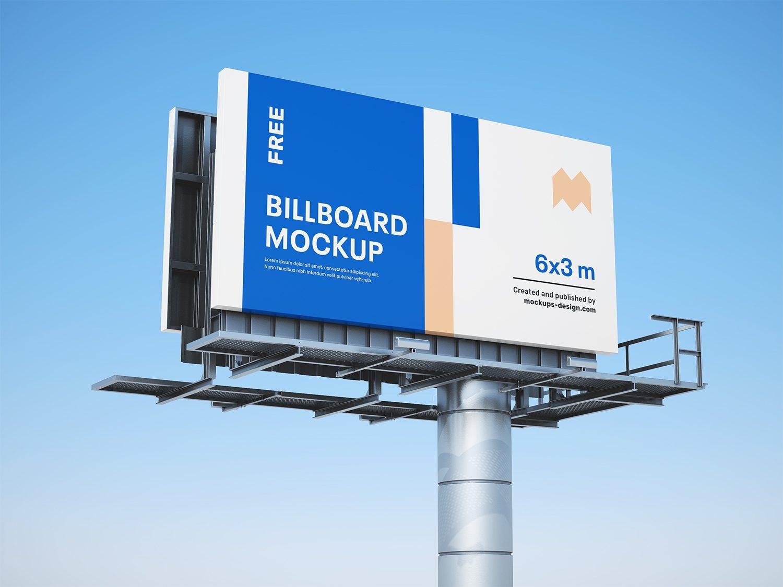 Free Billboards Mockup PSD