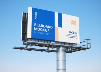 Free Billboards Mockup PSD