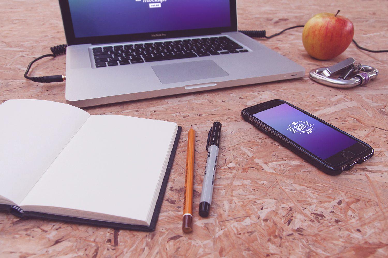 Huge MacBook and iPhone Mockup Bundle