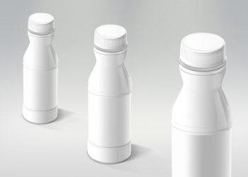 Multipurpose Plastic Bottle Mockup