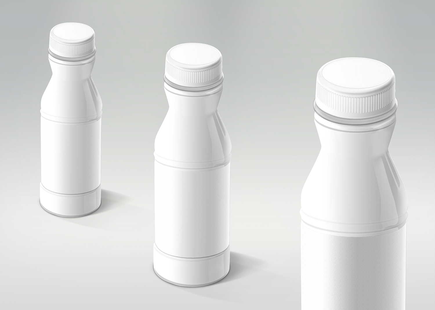 Multipurpose Plastic Bottle Mockup