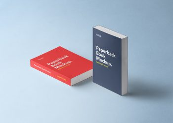 Paperback Book Mockup PSD