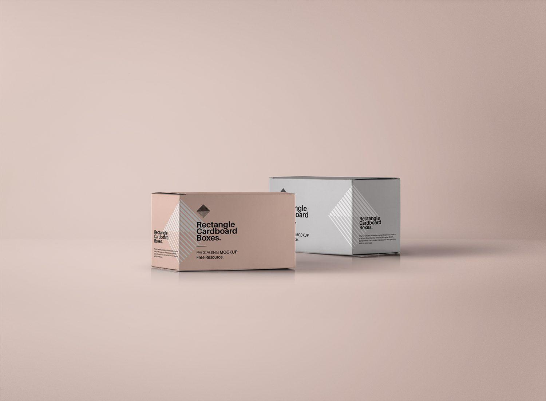 Rectangular Box PSD Mockup