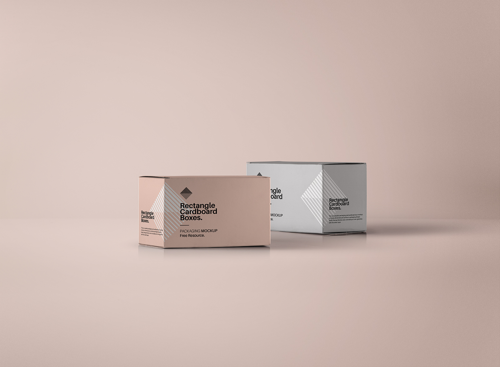 Rectangular Box PSD Mockup