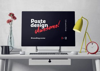 Surface Studio Scene Mockup