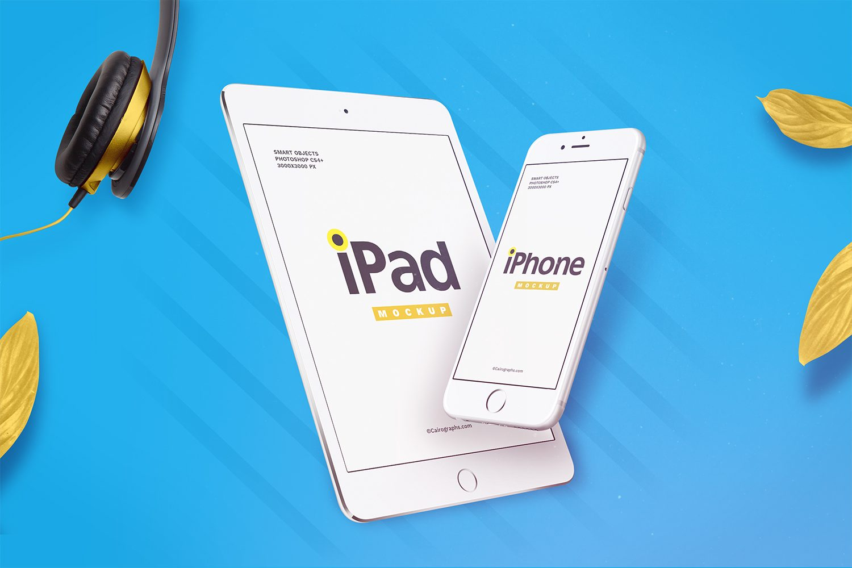 iPhone and iPad Presentation Mockups