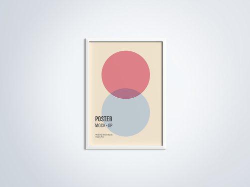 Smart Poster Mockup PSD