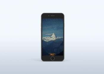 iPhone 6s Space Grey Mockup