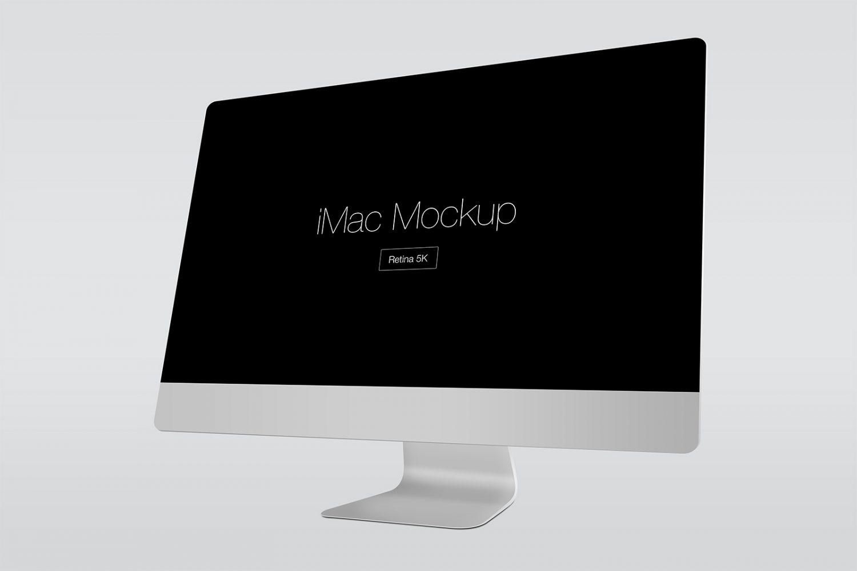 Apple iMac Retina 5k Mockup