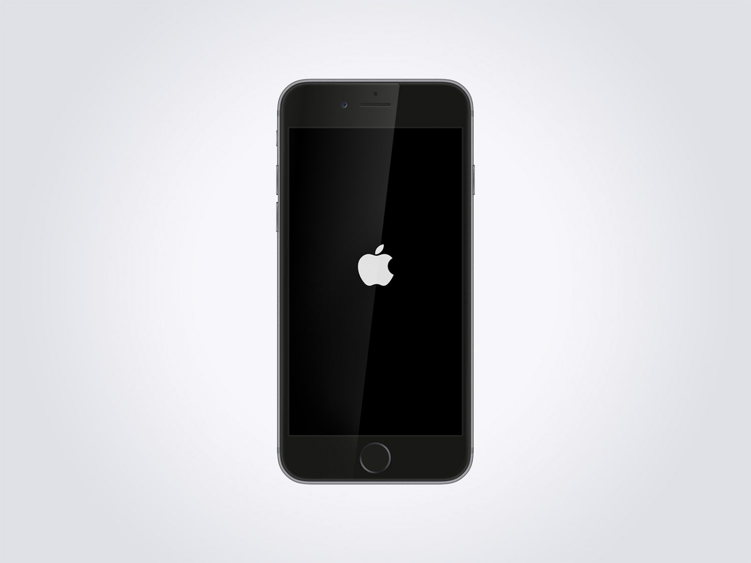 Clean iPhone 6 Mockup