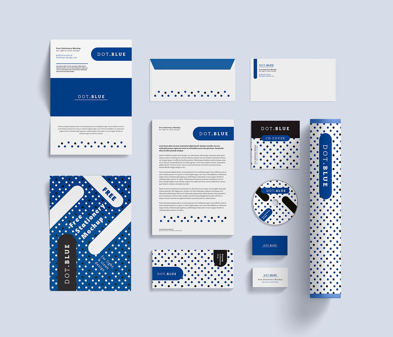 Corporate Identity Mockup PSD