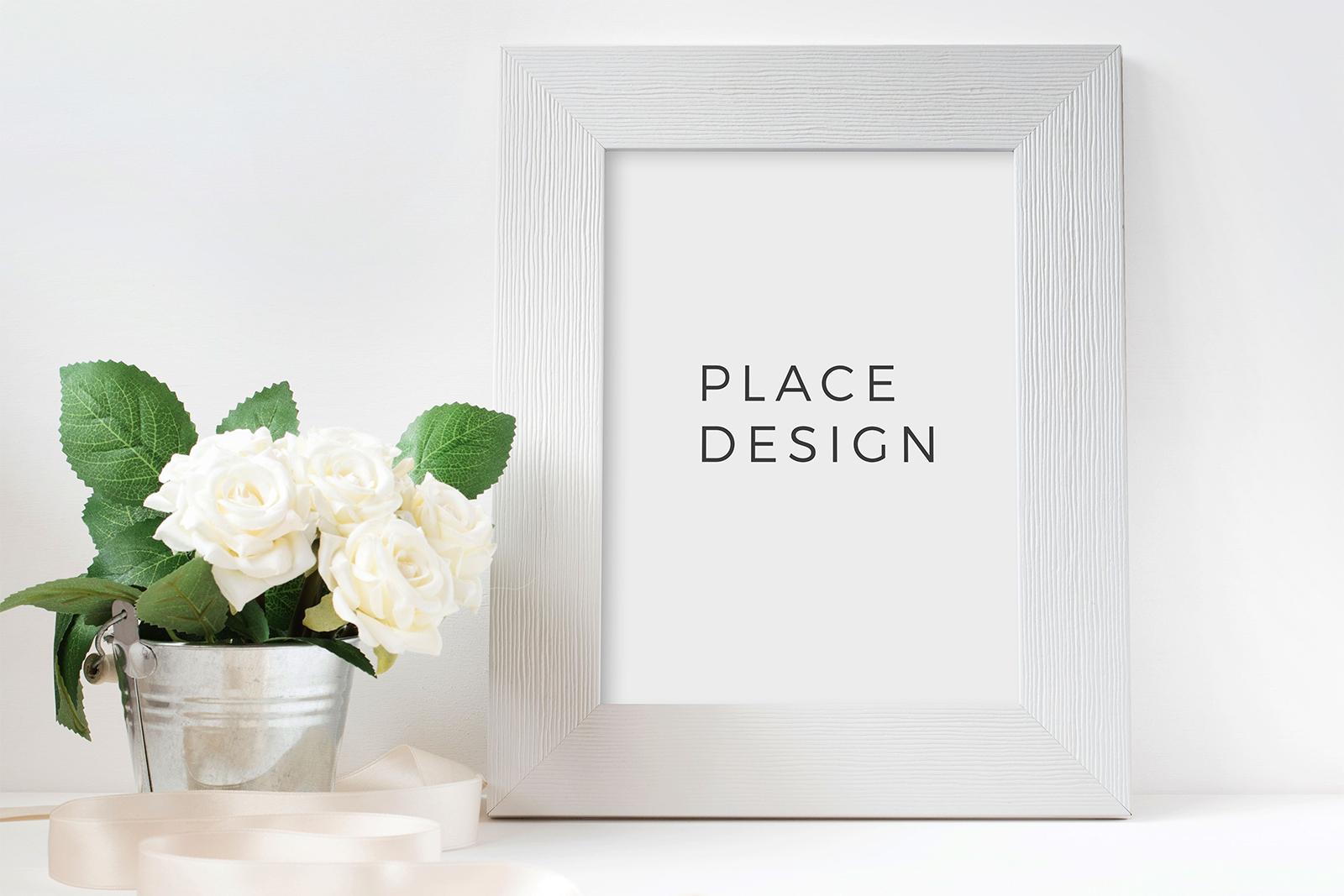Elegant Photo Frame / Poster Mockup PSD