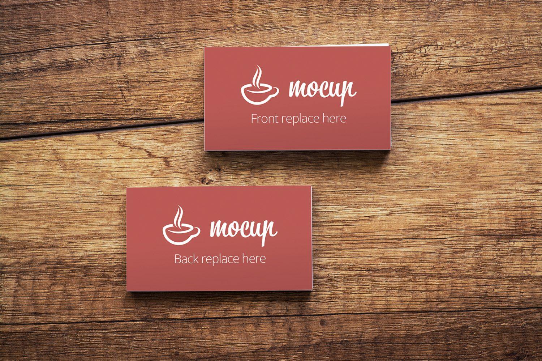 Free CI Business Card Mockup