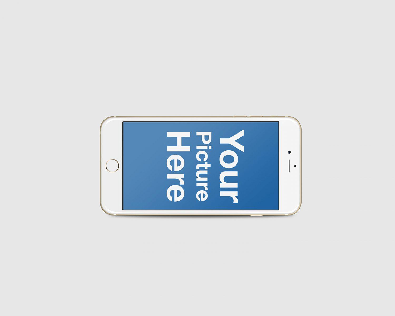 Set of Floating iPhone Mockups