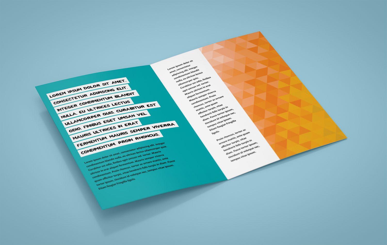 Free A5 Leaflet Mockup PSD
