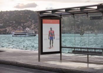 Outdoor Advertising Mockup Free PSD