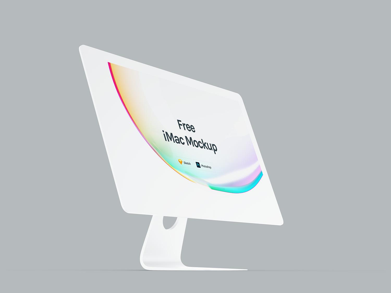 Premium iMac Mockup PSD
