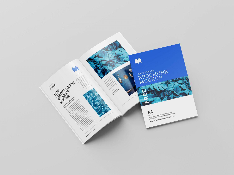 Free Book Brochure Mockup