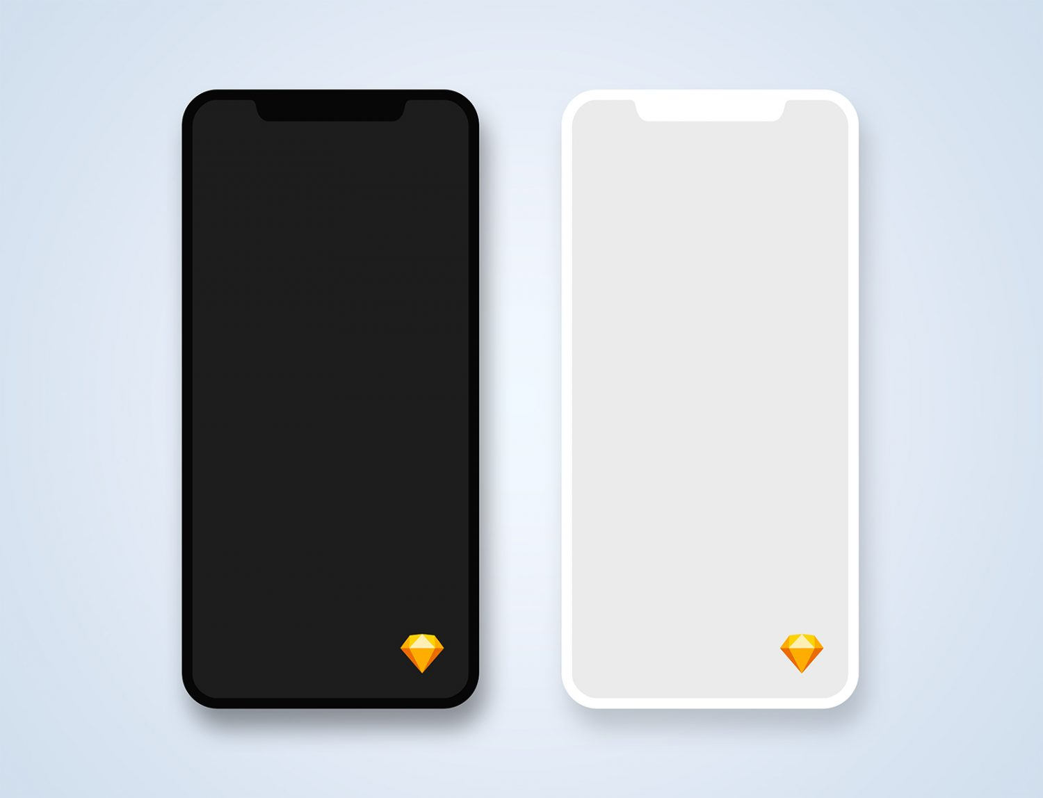 Free iPhone 11 Pro Sketch Mockup