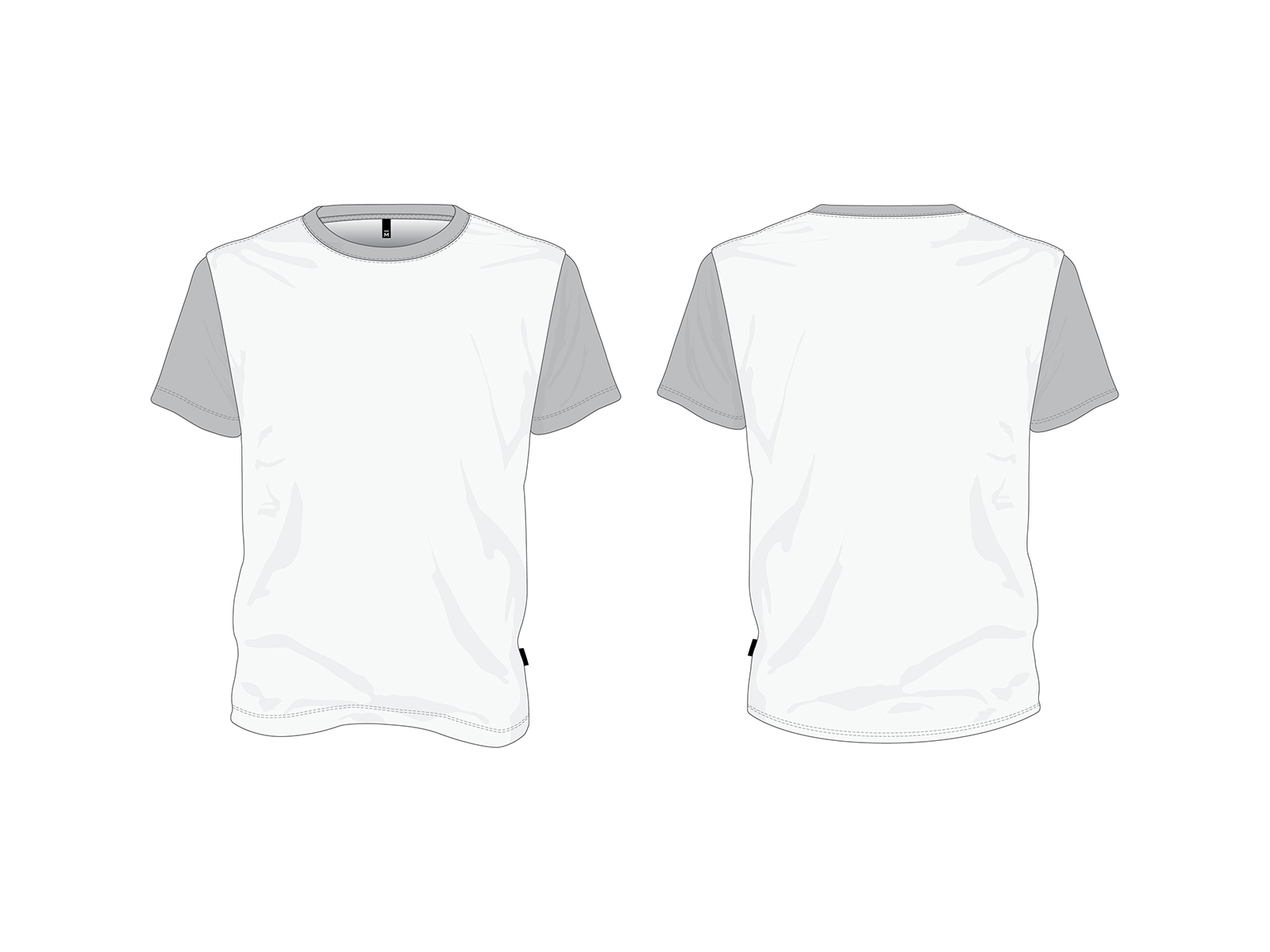 T-Shirt Mockups Free Vector Files
