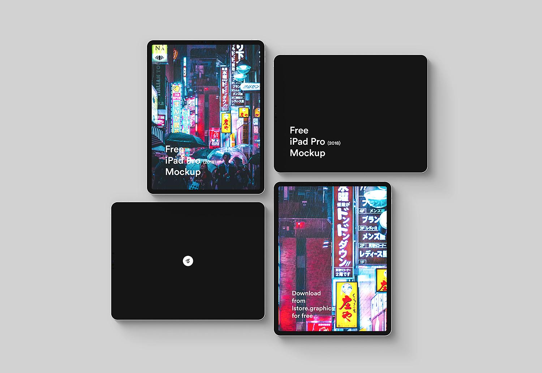 iPad Pro PSD & Sketch Mockup Template