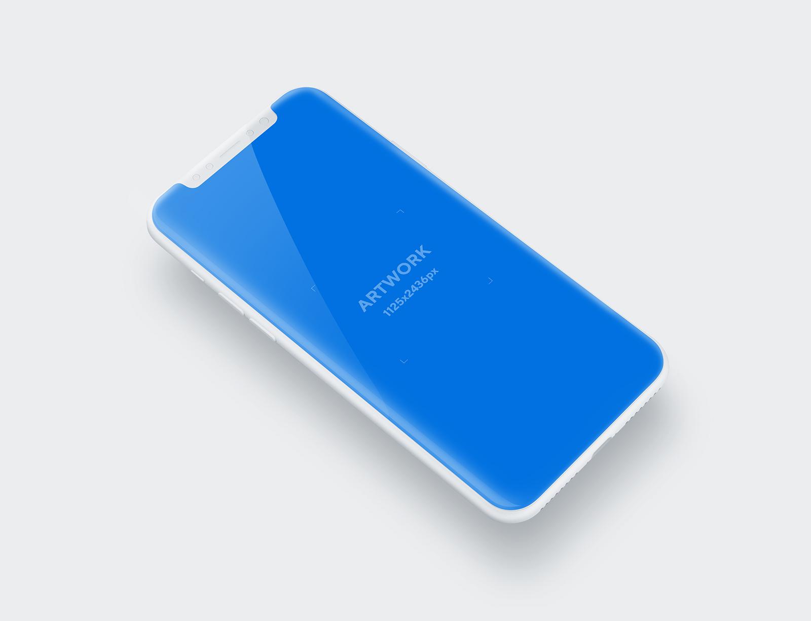 iPhone X/11 Pro Free PSD Mockup