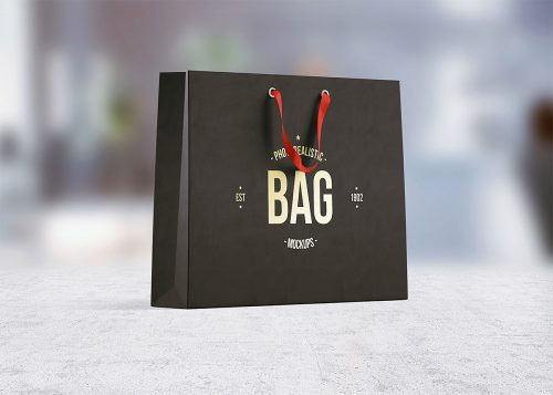 Shopping Bag Free PSD Mockup