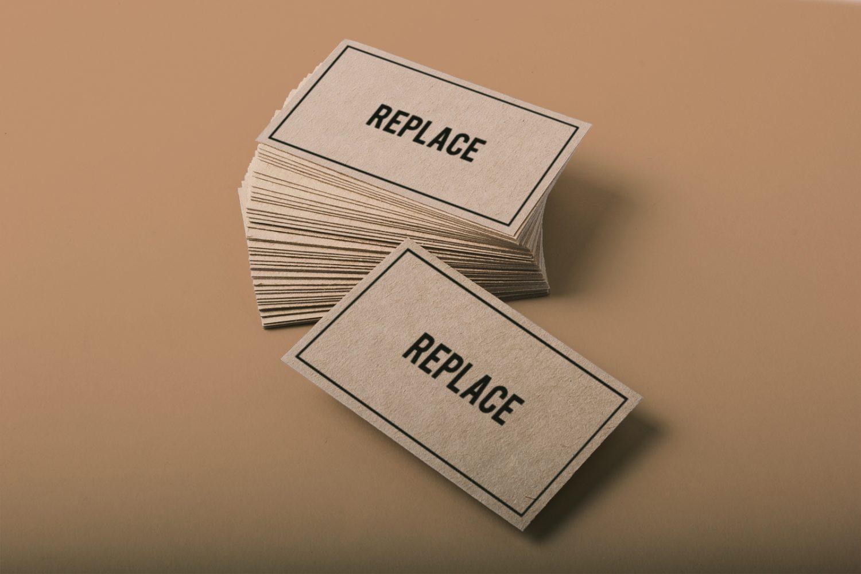 2 Free Business Card Mockups PSD
