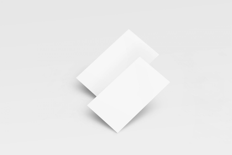 8 Free Clean Business Card Mockups Vol. 2