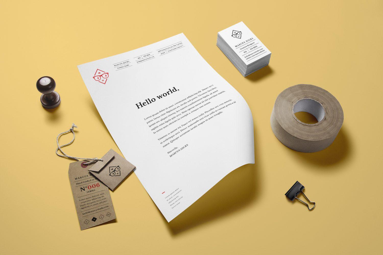 Branding Identity Mockup Vol. 14