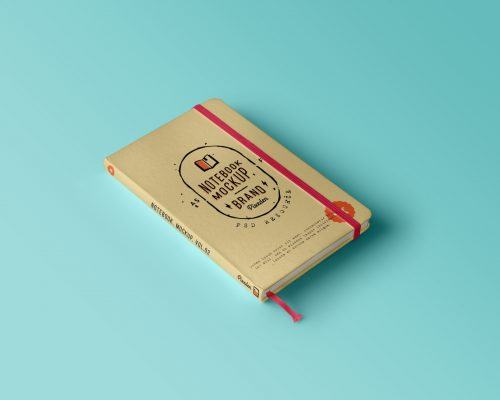 Classic PSD Notebook Mockup Vol.2