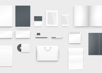Corporate Style Brand Identity Mockup