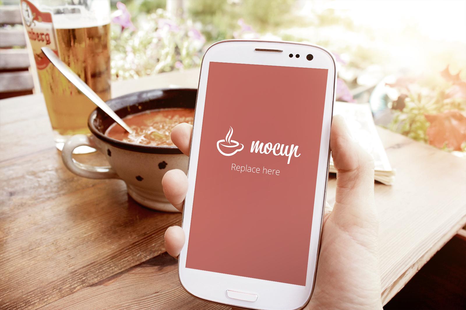 Free Samsung Mockup Pub