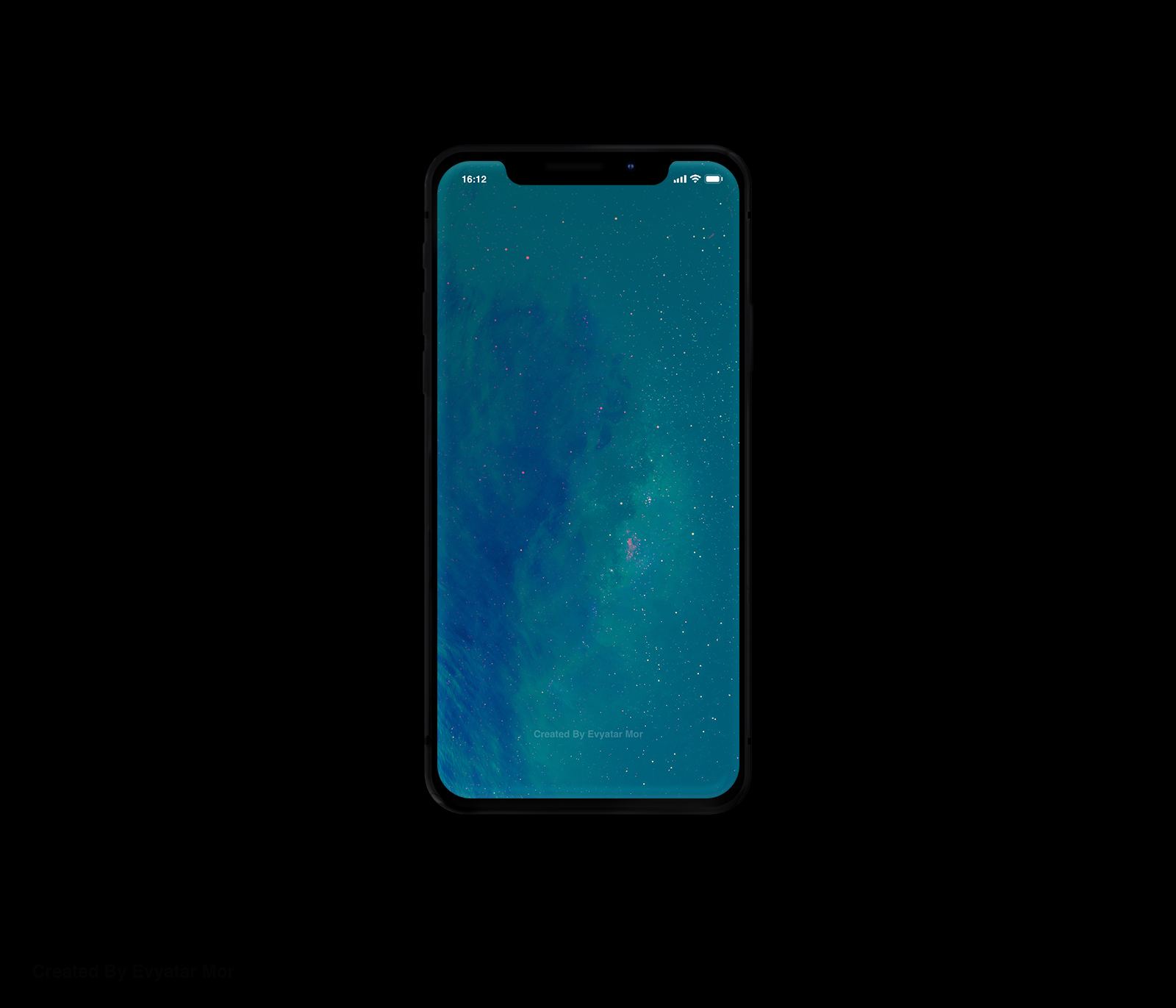 Free iPhone X Clean Mockup